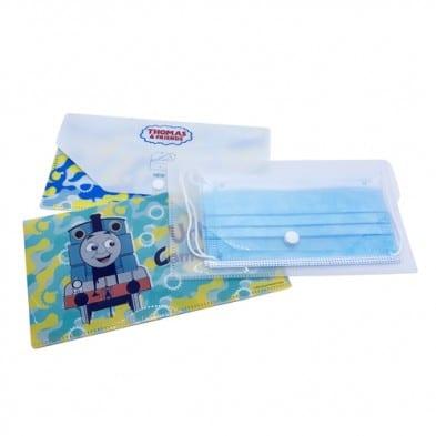 กล่องพลาสติกใส่หน้ากากอนามัยสกรีน
