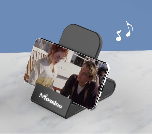 Wireless Charging Speaker With Stand Model-M6008Q