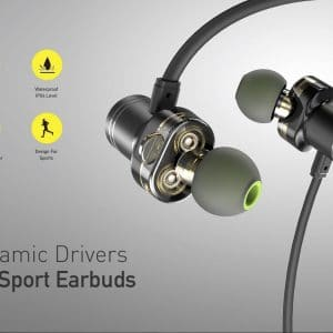 Awei Dual Dynamic Drivers Wireless Sport Earbuds X670BL