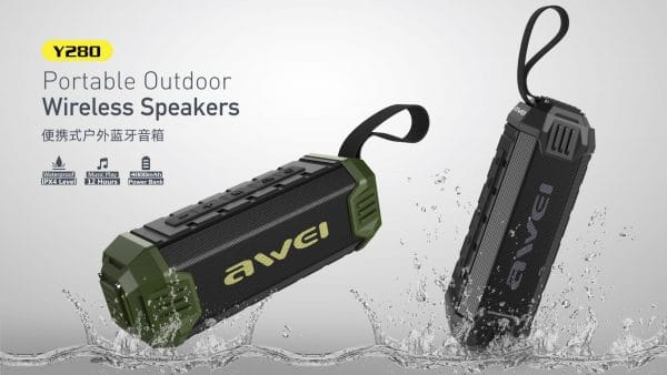 Awei Portable Outdoor Wireless Speakers Y280