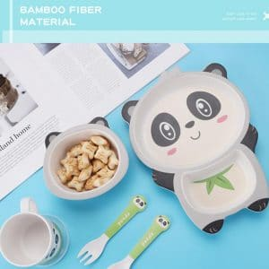 EcoFreindly จานข้าวเด็ก