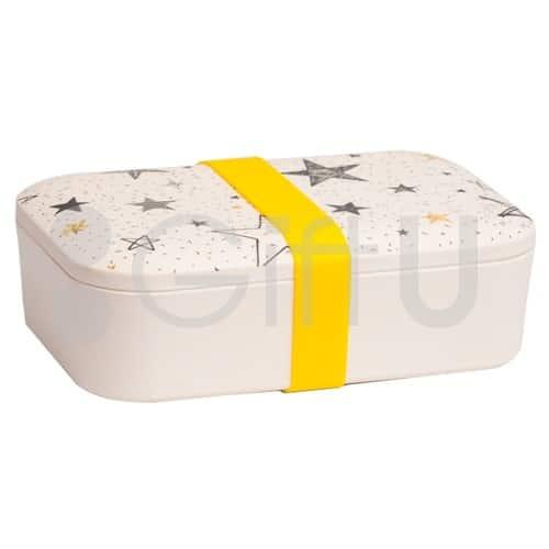 กล่องข้าวกลางวัน วัสดุธรรมชาติจากใยไผ่